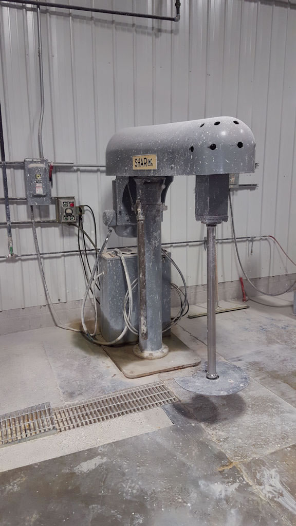 PVPP 003 - SHAR high shear mixer